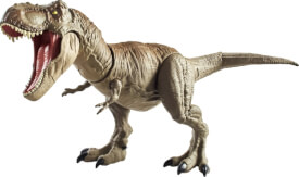 Mattel GCT91 Jurassic World Superbiss-Kampfaction Tyrannosaurus Rex