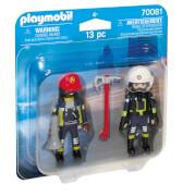 PLAYMOBIL 70081 DuoPack Feuerwehrmann und frau