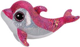 TY Sparkles - Delfin, pink, 15cm