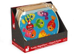 Magnet-Angelpuzzle Fischglas