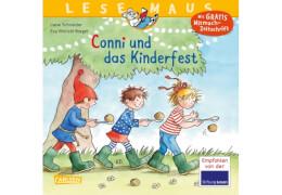 Lesemaus - Band 99: Conni und das Kinderfest, Taschenbuch, 24 Seiten, ab 3 Jahren
