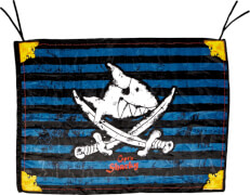 Piratenflagge Capt'n Sharky